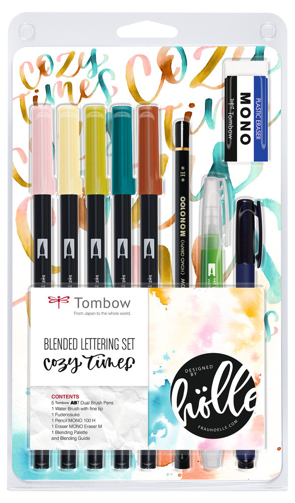 TOMBOW BS-FH1 | Blended Lettering Set Cozy Times