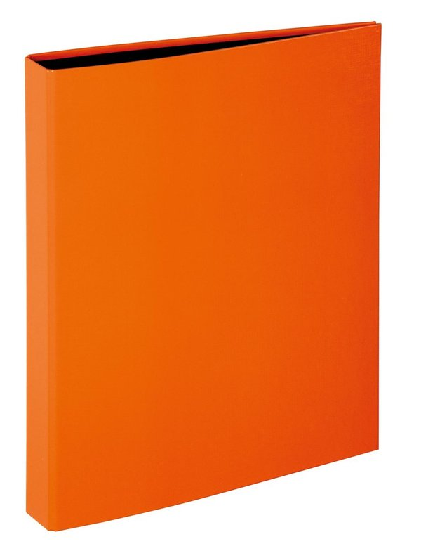 PAGNA 20608-09 | Ringbuch A4 Basic 4-Ring Mechanik | orange