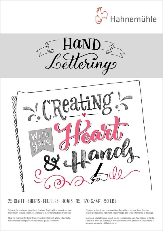 HAHNEMÜHLE hah10628990 | Hand Lettering Block | A5